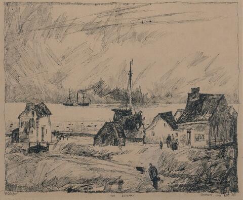 Lyonel Feininger - The Estuary