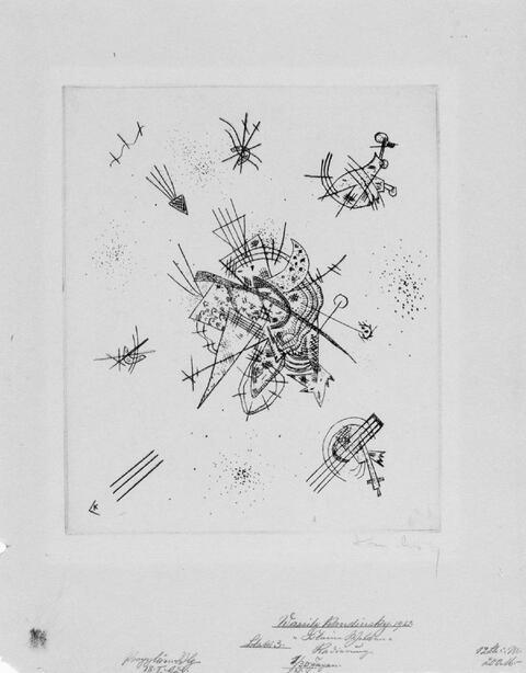 Wassily Kandinsky - Kleine Welten X