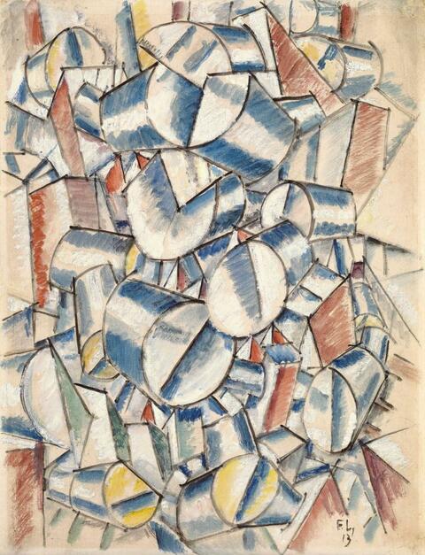 Fernand Léger - Contraste de Formes