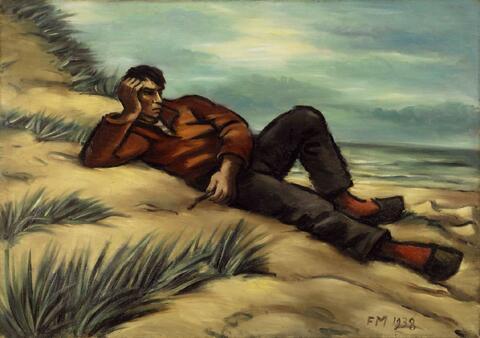 Frans Masereel - Jeune matelot couché