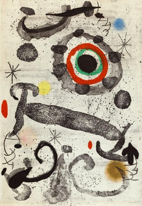 Joan Miró - L'Astre du marécage