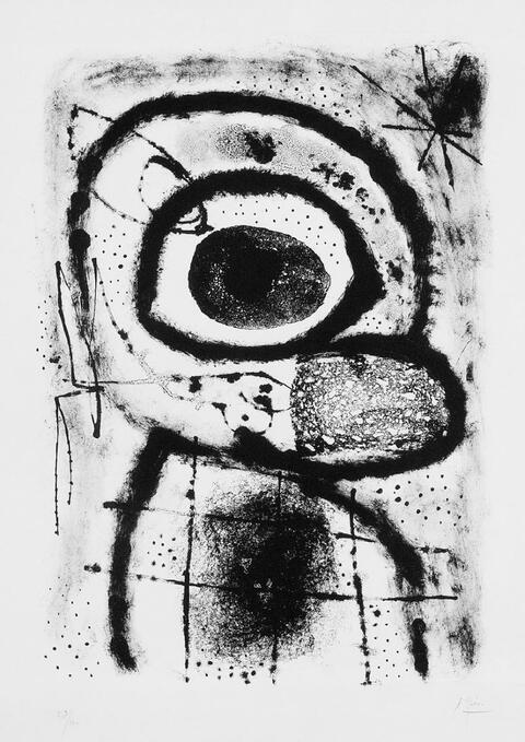 Joan Miró - Le Penseur