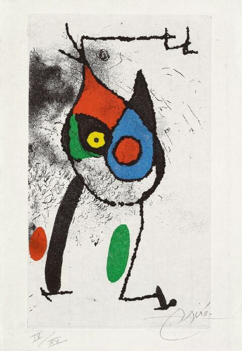 Joan Miró - Les magies