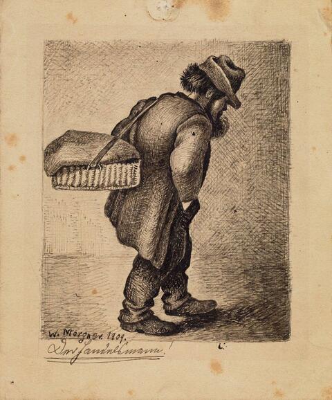 Wilhelm Morgner - Der Handelsmann