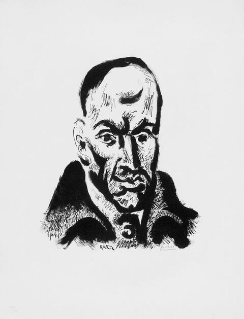 Pablo Picasso - Portrait von Gongora