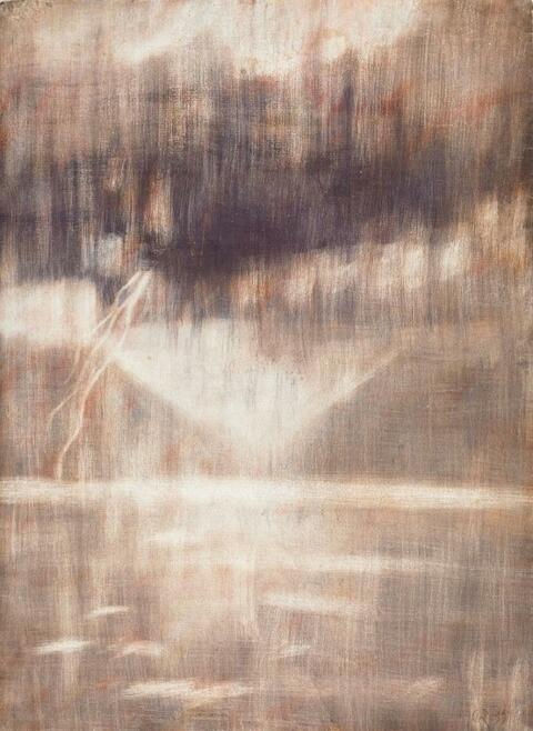 Christian Rohlfs - Der Blitz