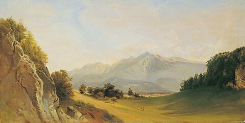Friedrich Loos - DER UNTERSBERG BEI SALZBURG.