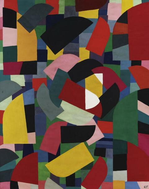 Otto Freundlich - Composition