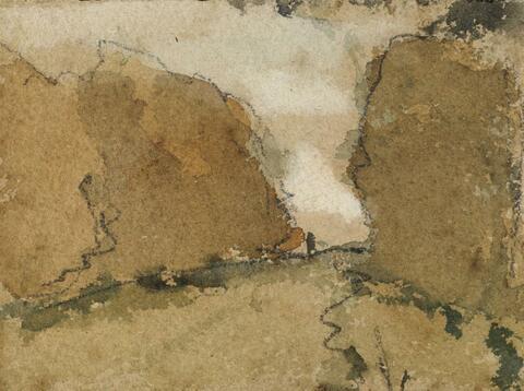 Paul Gauguin - Kleine Landschaftstudie