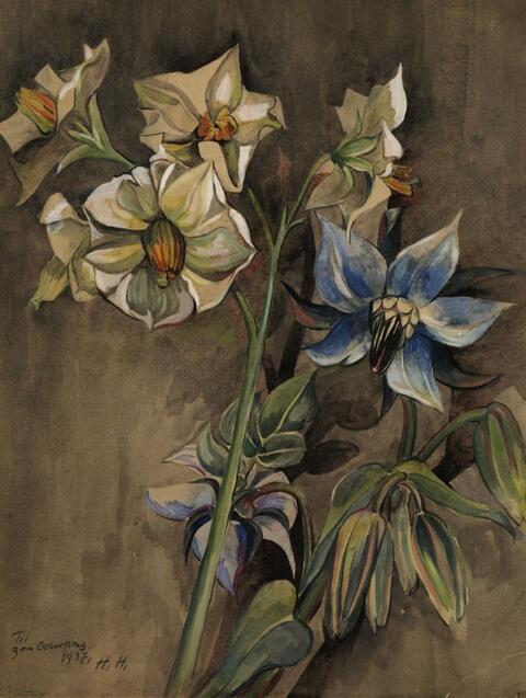 Hannah Höch - Blumenstilleben