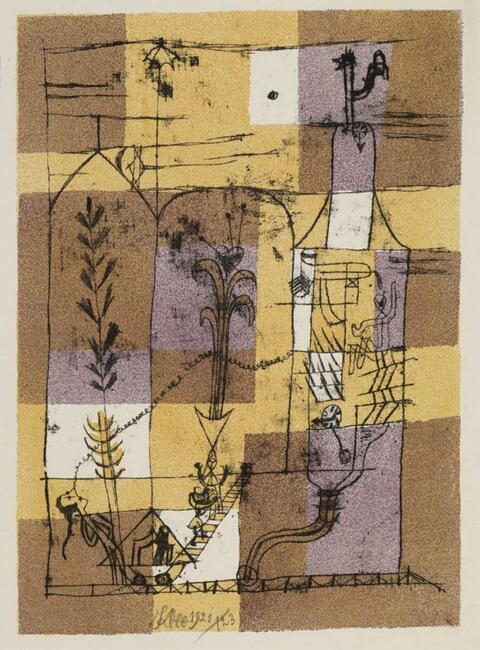 Paul Klee - Hoffmanneske Szene