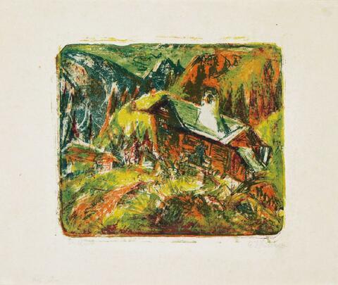 Ernst Ludwig Kirchner - Berghaus