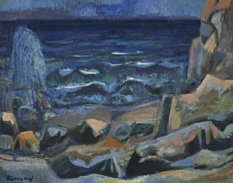 Bruno Krauskopf - Küstenlandschaft