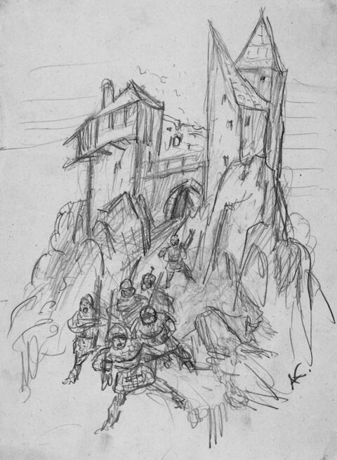 Alfred Kubin - Burg Weinstein