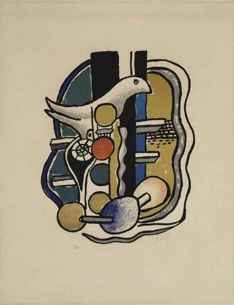 Fernand Léger - La Colombe