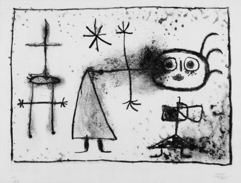 Joan Miró - Young Gin