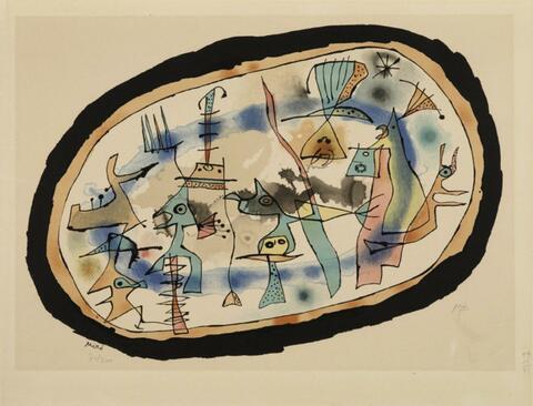 Nach Joan Miró - La naissance du jour