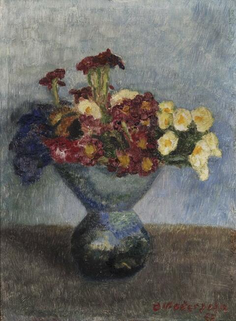 Otto Modersohn - Blumenstrauß