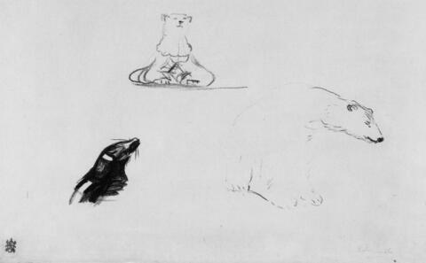 Edvard Munch - Seehund und Eisbär