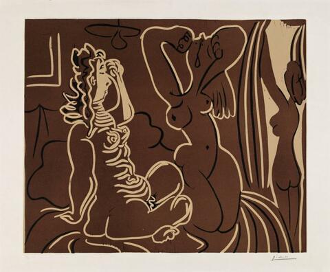 Pablo Picasso - Trois femmes au réveil