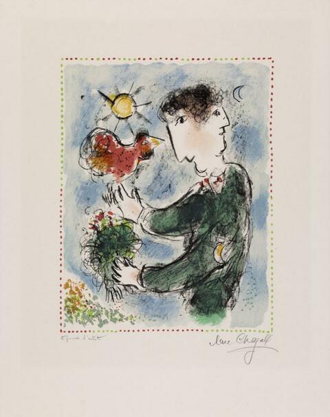 Marc Chagall - L'Aurore