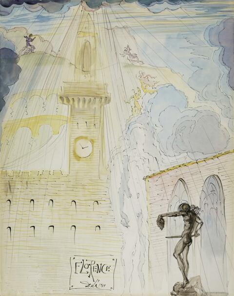 Salvador Dali Y Domenech - Florence