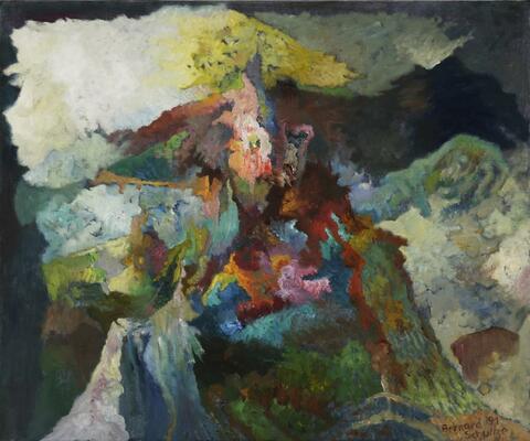 Bernard Schultze - Faustische Landschaft