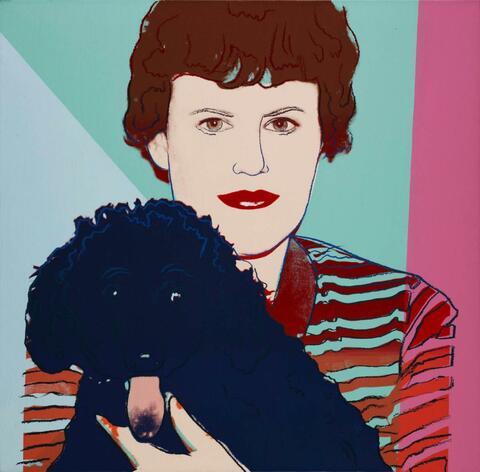 Andy Warhol - Ohne Titel (Ms. B and Yucca)
