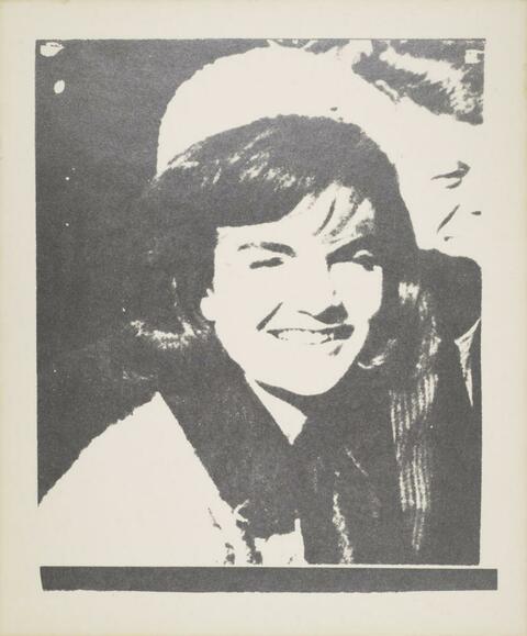 Andy Warhol - Jacqueline Kennedy I (Jackie I)