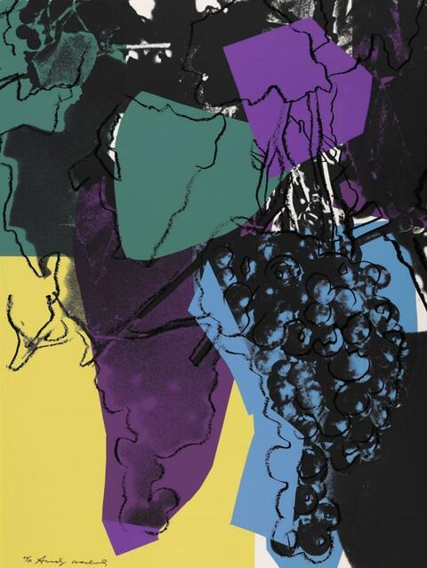 Andy Warhol - GRAPES