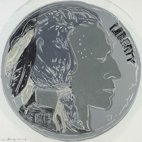 Andy Warhol - INDIAN HEAD NICKEL
