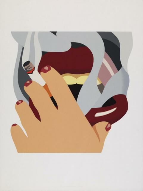 Tom Wesselmann - Smoker