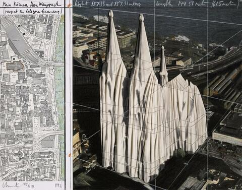 Christo - MEIN KÖLNER DOM, WRAPPED