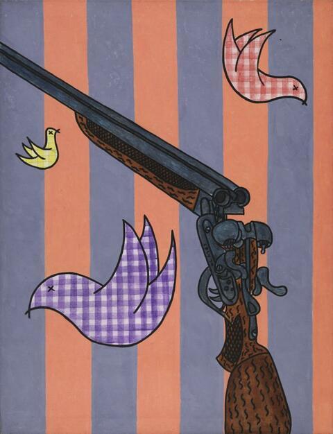 William Nelson Copley - OHNE TITEL (THE BIRDS)