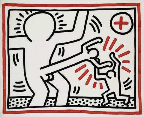 Keith Haring - Untitled 1