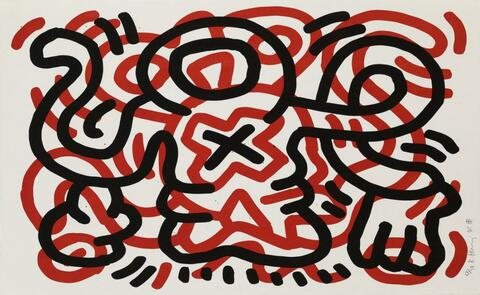 Keith Haring - Ludo 3