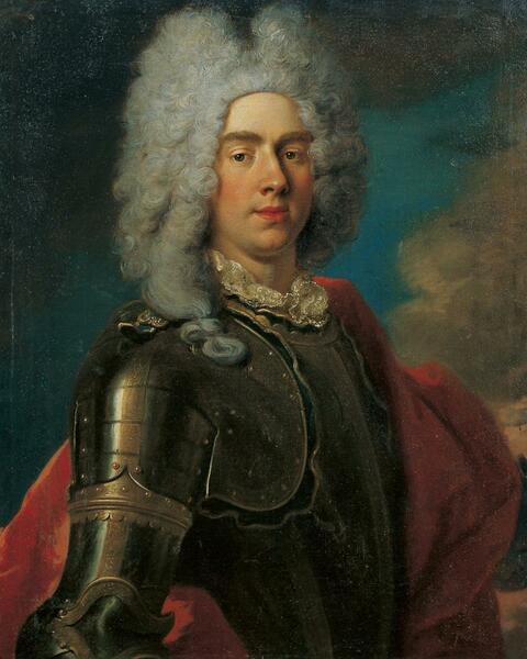 Französischer Meister - BILDNIS DES HERZOGS PHILIPP II.