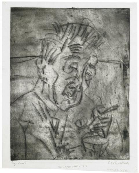 Ernst Ludwig Kirchner - Der Suppenesser