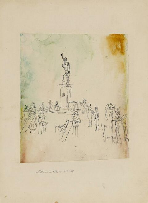 Paul Klee - Wäscherinnen am Brunnen