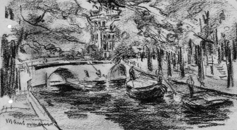 Max Liebermann - Gracht