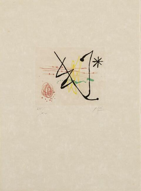 Joan Miró - Bague d'aurore