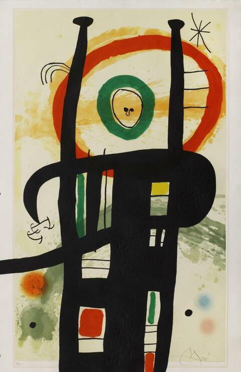 Joan Miró - Le grand Ordonnateur