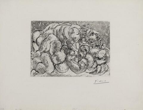 Pablo Picasso - Accouplement I