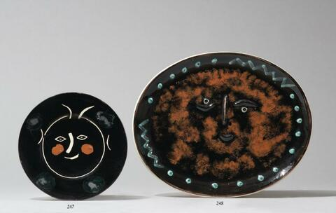 Pablo Picasso - Visage dans un ovale
