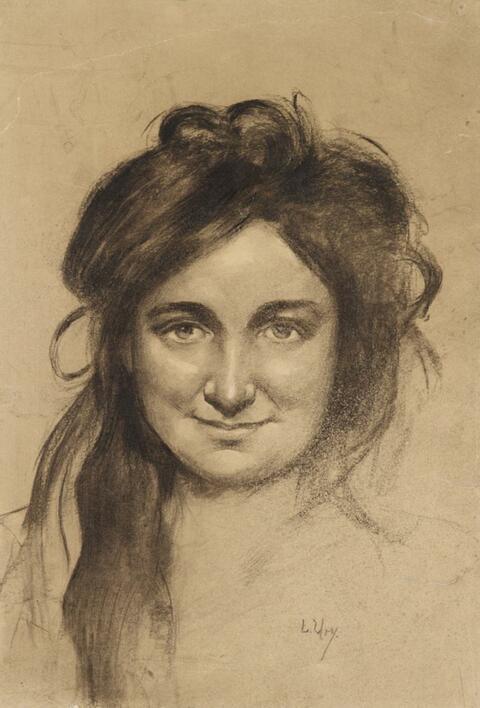 Lesser Ury - Bildnis einer jungen Frau (Meta Streiter?)