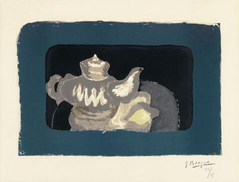 Georges Braque - Théière grise
