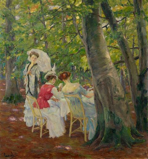 Edward Cucuel - Im Walde