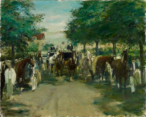 Otto Dill - Auffahrt zum Maimarkt