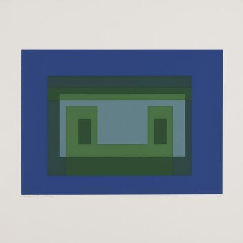 Josef Albers - Ten Variants