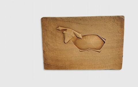 Joseph Beuys - Ohne Titel (Schaf)
